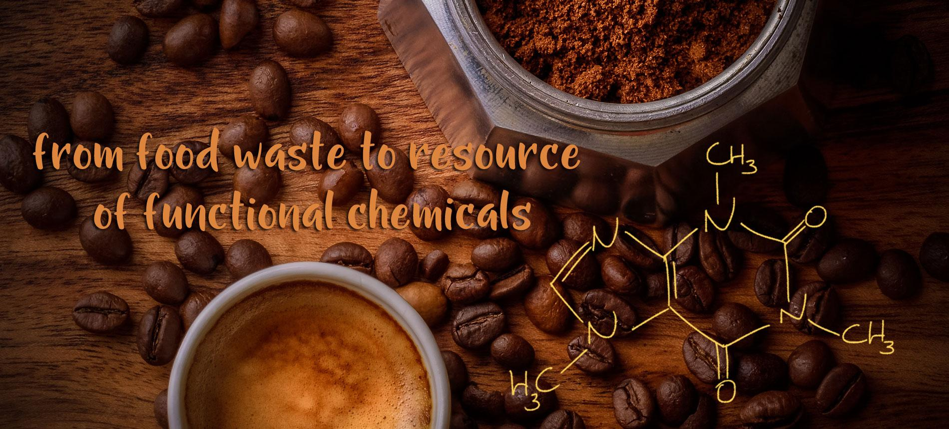 FROM WASTE TO RESOURCE OF FUNCTIONAL CHEMICALS